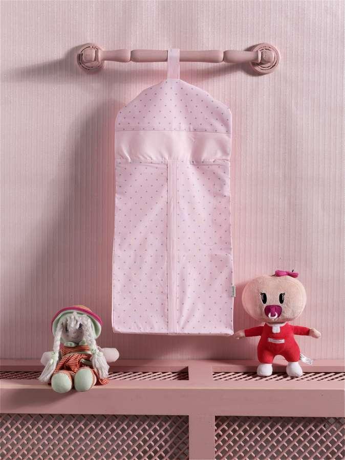 Купить KIDBOO Прикроватная сумка Sweet Flowers (30x65 см) [00-0013002], 100% полиэстер/ 100% хлопок, Для мальчиков и девочек, Принадлежности для хранения игрушек