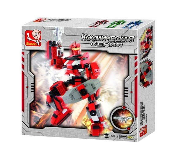 Купить SLUBAN Конструктор Космический. Супер робот , 285 деталей, Конструкторы