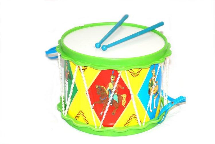 Купить ТУЛИГРУШКА Барабан Гусарский [С2-2], Детские музыкальные инструменты