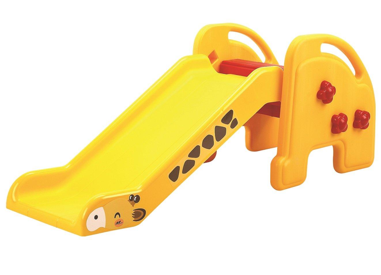 Купить QIAOQIAO Детская горка Жираф , цвет: желтый, Желтый, пластик, Китай, Игровые и спортивные комплексы и горки