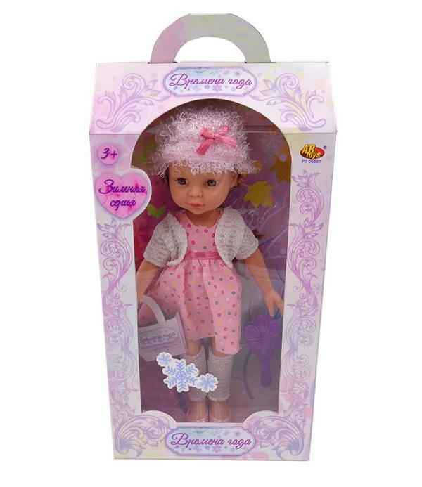 Купить ABTOYS Кукла Времена года (30 см) [PT-00507], в ассортименте, пластик, Текстиль, Для девочек, Куклы и пупсы