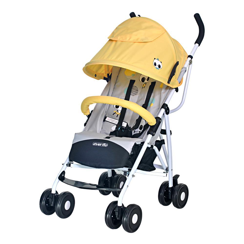 Купить УТ000001449, EVERFLO Коляска трость Ete Tibet Yellow-grey [Ete Tibet Yellow-grey], Детские коляски