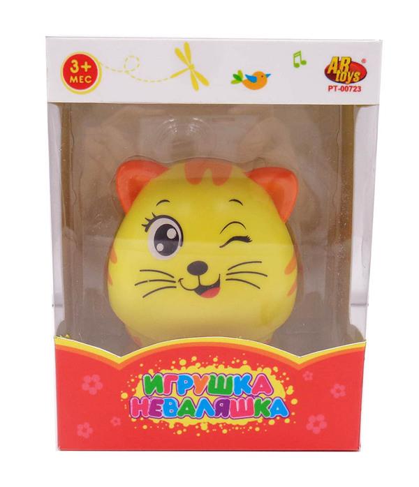 Купить ABTOYS Неваляшка Кошка [PT-00723], Неваляшки для малышей