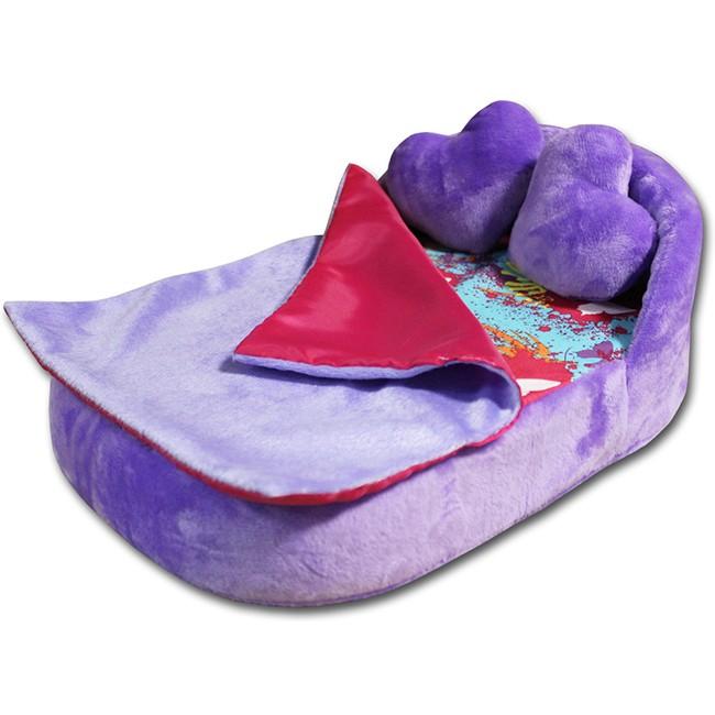 Купить BELON Набор мягкой мебели для кукол Райские бабочки , 4 предмета [HM-003/4-8], ПВХ, Картон, Текстиль, плюш, фигурный поролон, Мебель для кукол