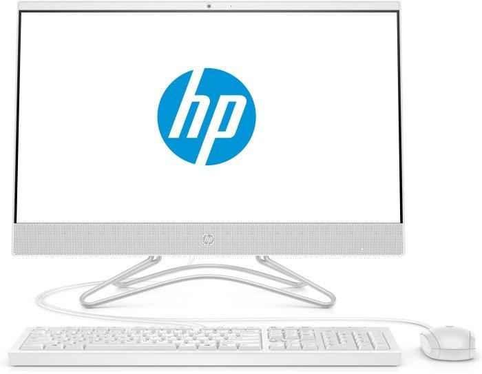 Купить Моноблок HP 22-c0031ur (4GS83EA), белый