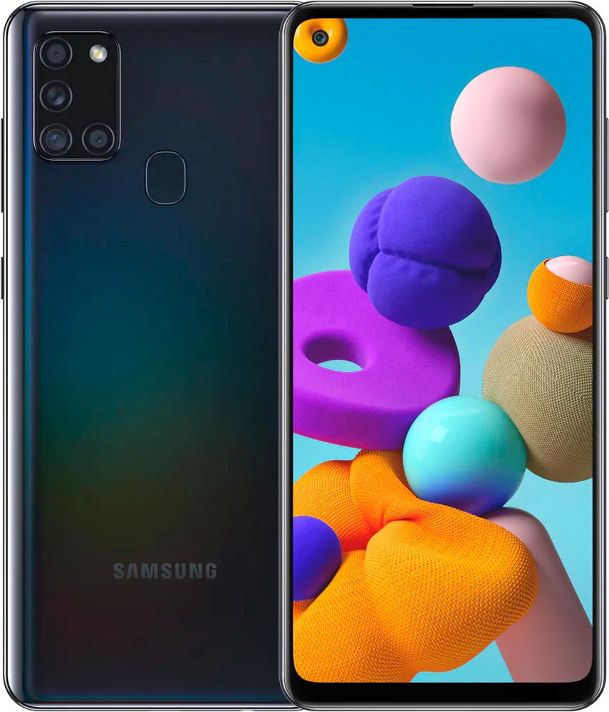 Смартфон Samsung Galaxy A21s 3/32Gb (SM-A217FZKNSER) черный фото