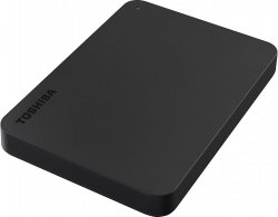 Внешний жесткий диск 500Gb Toshiba Canvio Basics Black (HDTB405EK3AA)