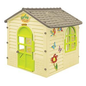 Купить MOCHTOYS Домик детский, 122x120x120 см, бежевый [11558], Бежевый, пластик, Детские игровые домики и палатки