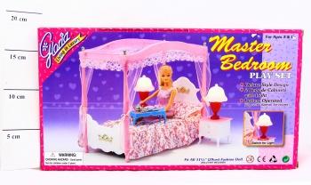 Купить НАША ИГРУШКА Кровать с балдахином Gloria [Д20010], Мебель для кукол