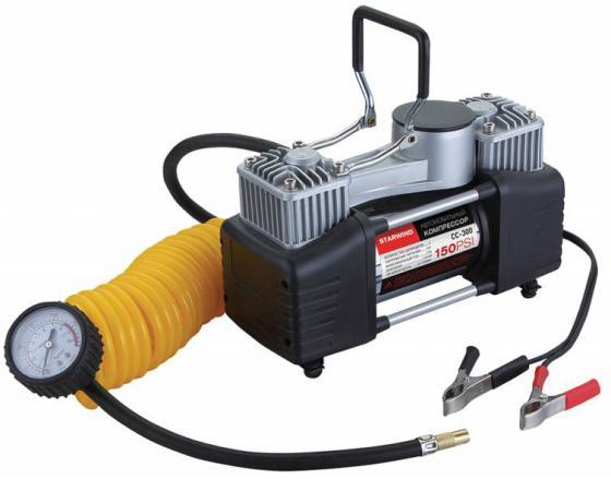 Автомобильный компрессор Starwind CC-300 65л/мин шланг 5м