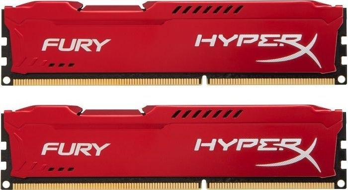 Оперативная память DIMM 16 Гб DDR3 1600 МГц HyperX Fury Red (HX316C10FRK2/16) PC-12800, 2x 8 Гб KIT фото