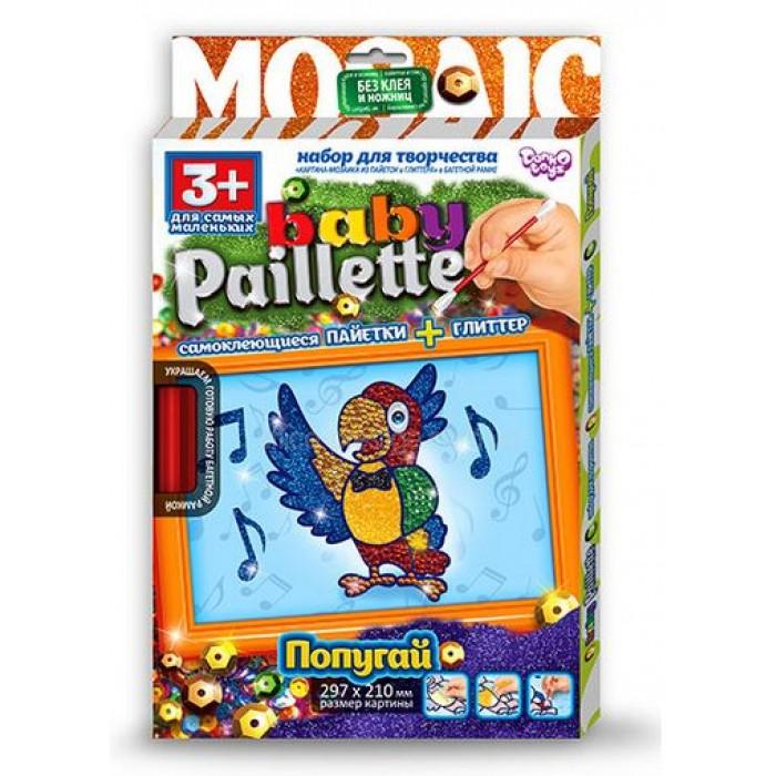 Купить DANKO TOYS Набор для творчества Baby Paillette. Кеша [PG-01-05], Наборы для создания украшений