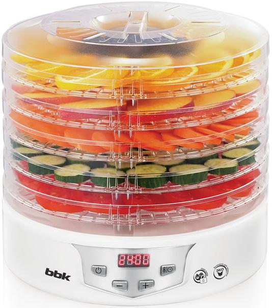 Сушилка для овощей и фруктов BBK BDH305D White/Silver, Белый с серебристыми элементами, Китай  - купить со скидкой