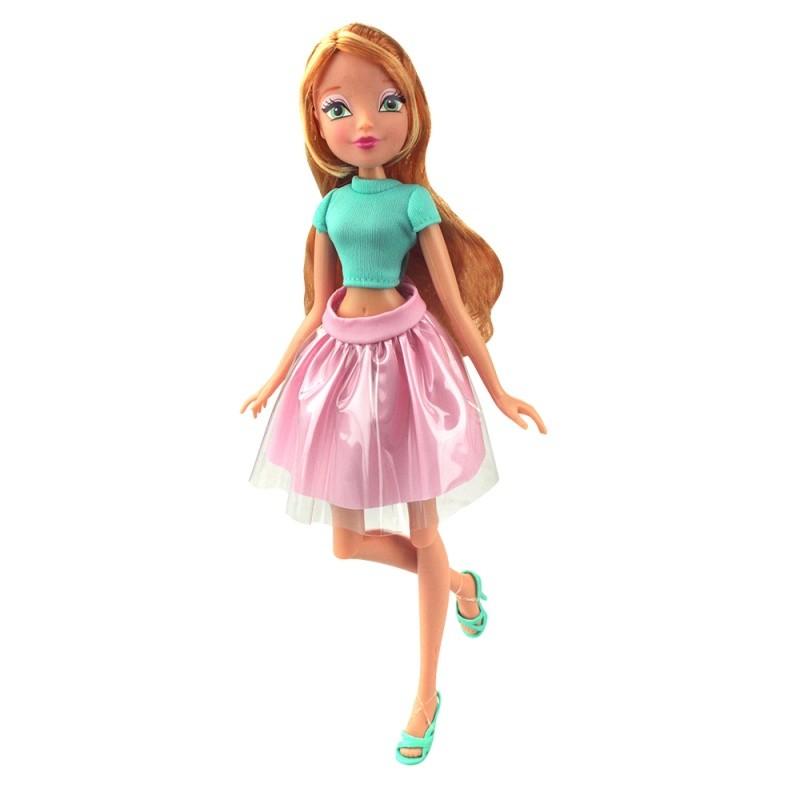 Купить WINX CLUB Кукла Winx Club Городская магия-2, Flora [IW01391600], Для девочек, Куклы и пупсы