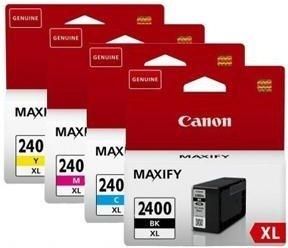 Купить Набор струйных картриджей Canon PGI-2400XL(9257B004), Набор цветов, Китай