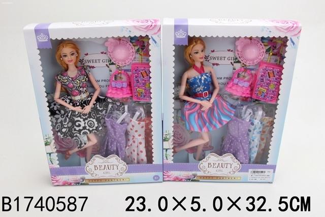 Купить SHANTOU Кукла с аксессур. в ассортименте, в/к 23*5*32, 5 см [JB700531], Куклы и пупсы