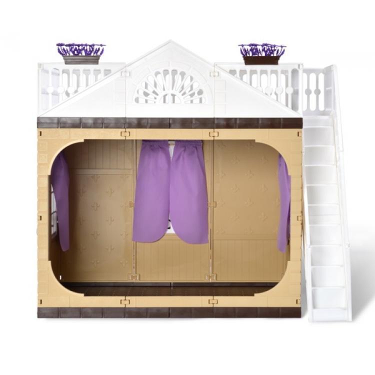 Купить ОГОНЕК Дачный дом Коллекция [С-1360], Огонек, пластик, текстиль, Для девочек, Россия, Кукольные домики