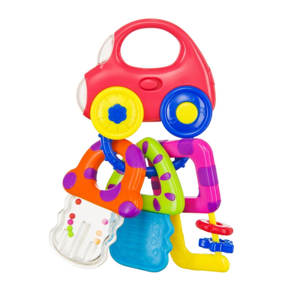 Купить Погремушка HAPPY BABY 330368 BABY CAR KEYS, АБС-пластик, полипропилен, этиленвинилацетат, Для мальчиков и девочек, Китай, Погремушки и прорезыватели