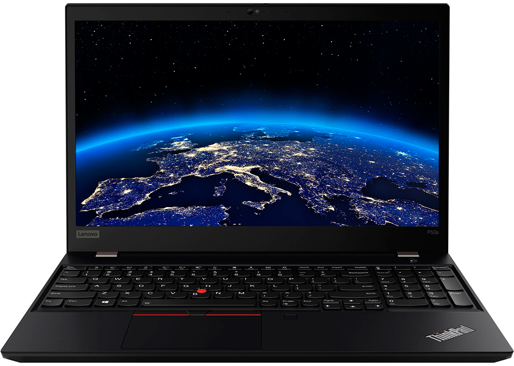 Ноутбук Lenovo ThinkPad P53s (20N6003ART) черный фото