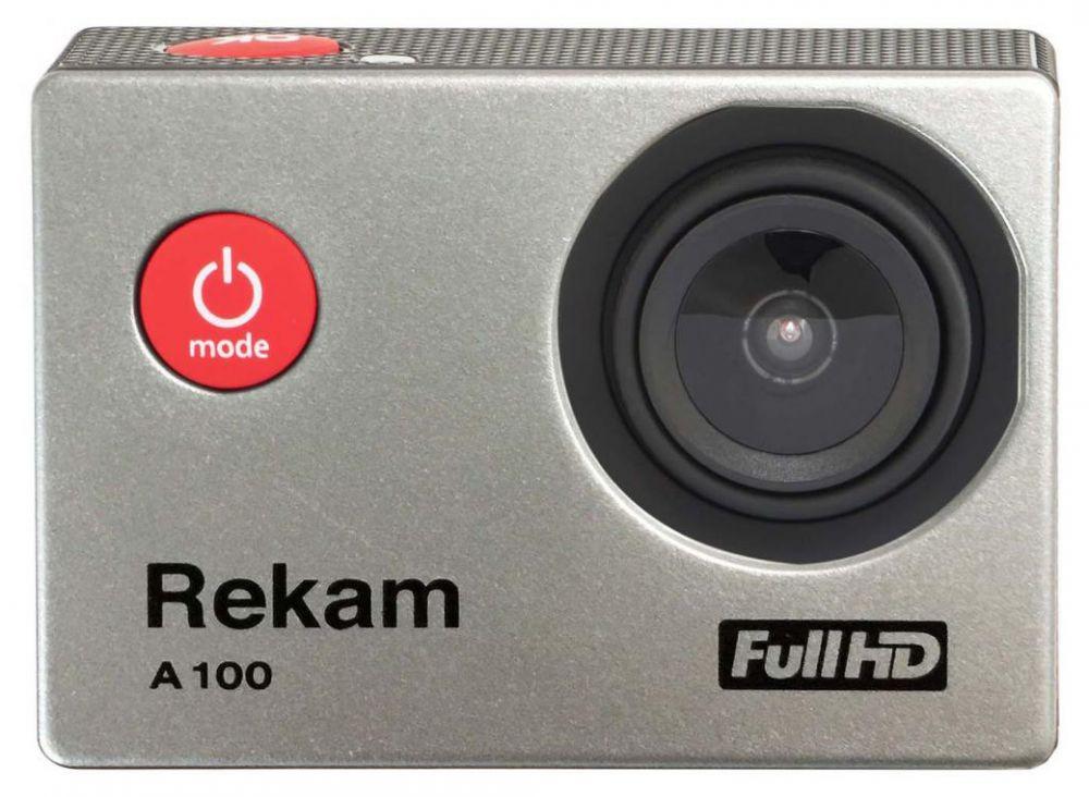 Экшн-камера Rekam A100 1xCMOS 12Mpix серый