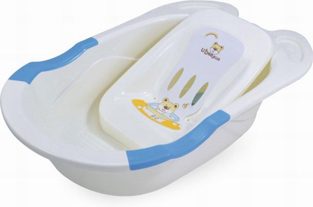 Купить PITUSO Детская ванна с горкой для купания 85 см Голубая BLUE 85x50x23, 5 см 10шт./кор. [8837], Ванночки для малышей