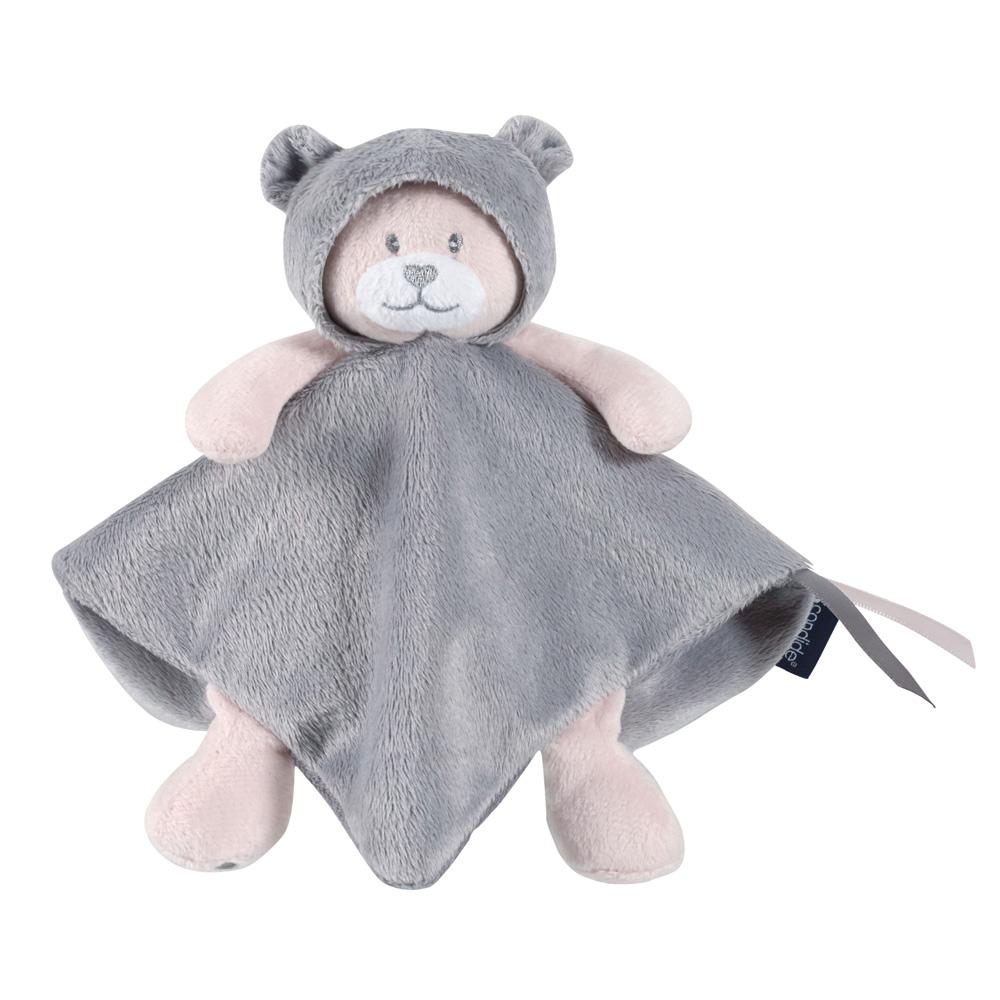 Купить CANDIDE Мягкая развивающая игрушка Мишка CAPUCHON, 22x22 см [314680], Франция, Развивающие игрушки для малышей