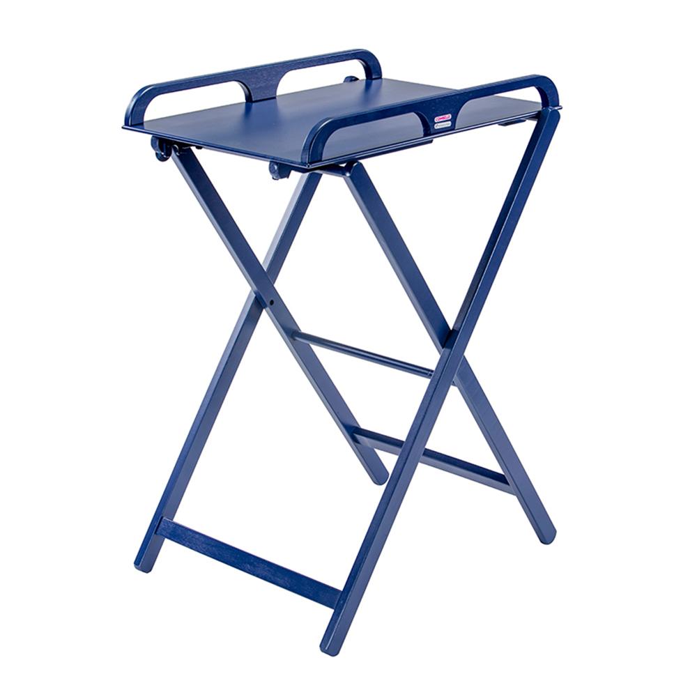 Купить COMBELLE Столик для пеленания JADE (дерево) складной 52х82х87см Navy BLUE / Темно - синий [126], Франция, Пеленальные столики и доски для малышей
