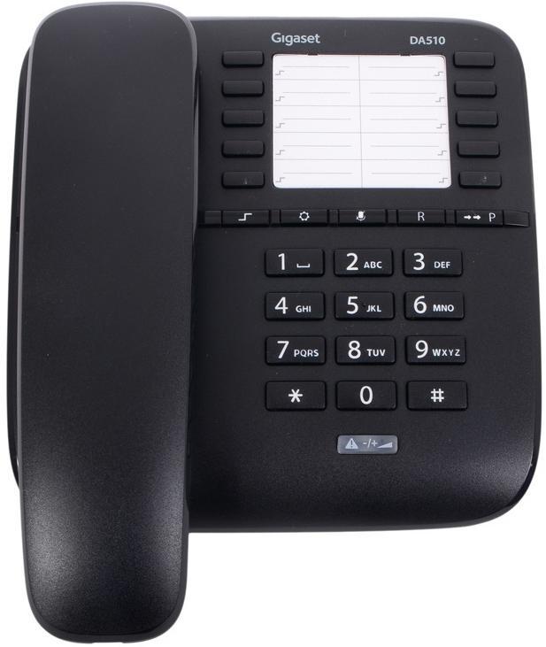 Проводной телефон Gigaset DA510 черный