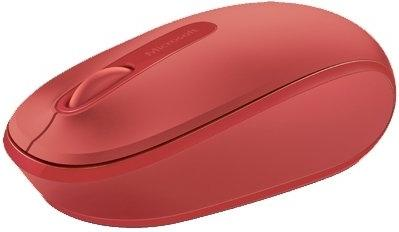 Беспроводная мышь Microsoft Wireless Mobile Mouse 1850 Red (U7Z-00034)