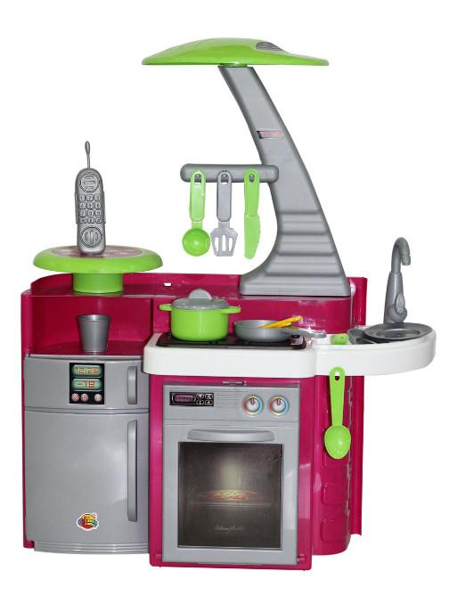 Купить ПОЛЕСЬЕ Набор Кухня Laura с варочной панелью (в пакете) [49896], пластмасса, Беларусь, Детские кухни и бытовая техника