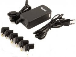 Адаптер AC Buro BUM-0061A40 Auto/40W/9,5V-19V/6 connectors/1A USB port/netbook