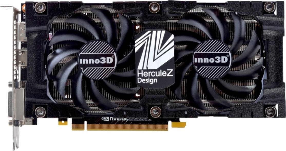 Купить Видеокарта Inno3D PCI-Ex GeForce GTX 1070 TwinX2 V3 8GB GDDR5 (256bit) (1506/8000) (2 x DVI, HDMI, DisplayPort) (N1070-2SDV-P5DS), NVIDIA GeForce GTX 1070, Китай