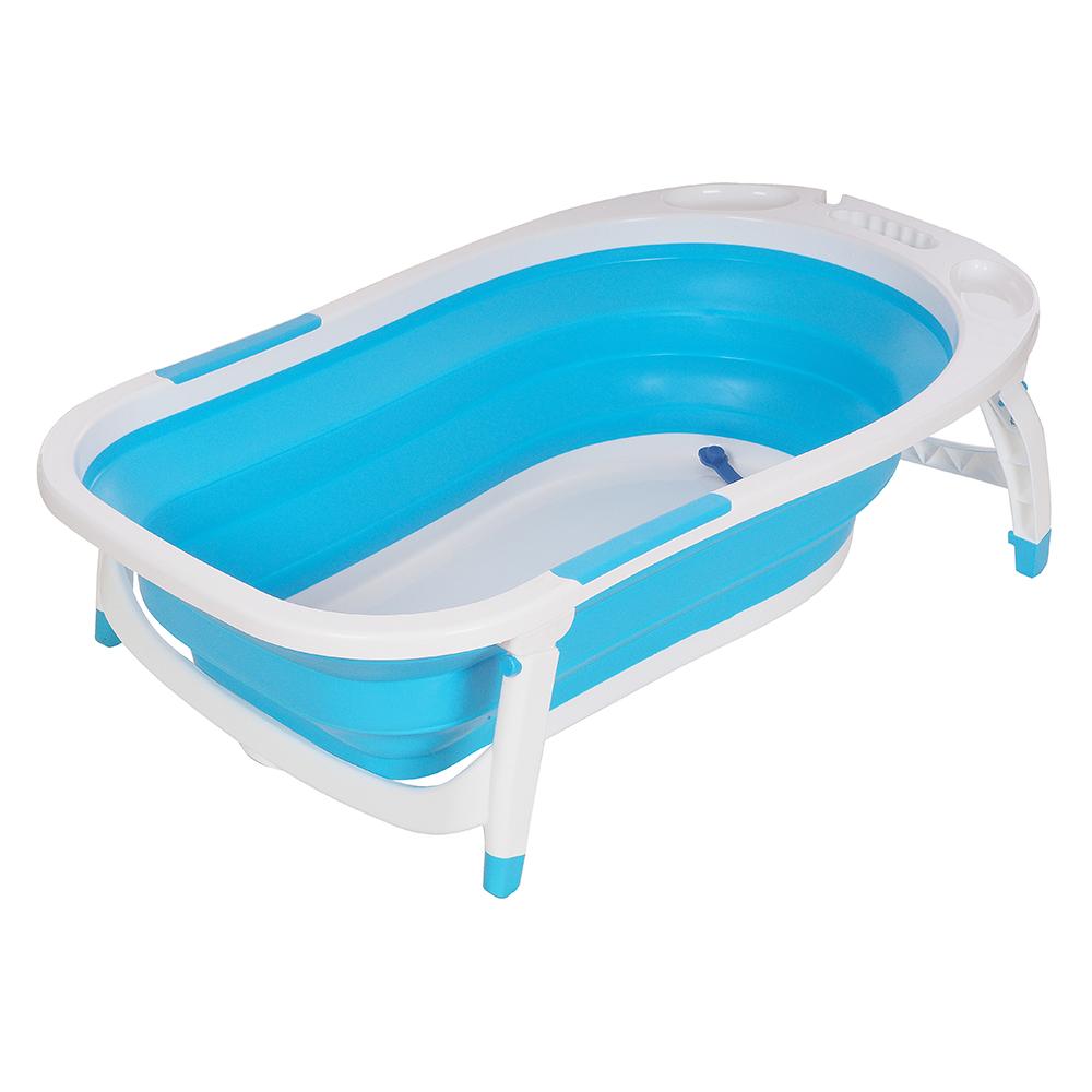 Купить 8833, PITUSO Детская ванна складная 85 см Голубая BLUE 51*84*23 см, Китай, Ванночки для малышей