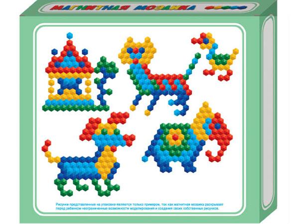 Купить ДЕСЯТОЕ КОРОЛЕВСТВО Мозаика магнитная шестигранная, 100 деталей [961], Россия, Мозаика для детей