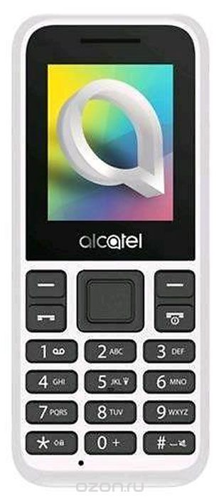Мобильный телефон Alcatel 1066D (1066D-2BALRU1) White