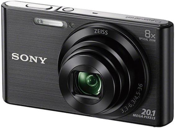 Купить Цифровой фотоаппарат Sony Cyber-shot DSC-W830 черный, Черный, Китай