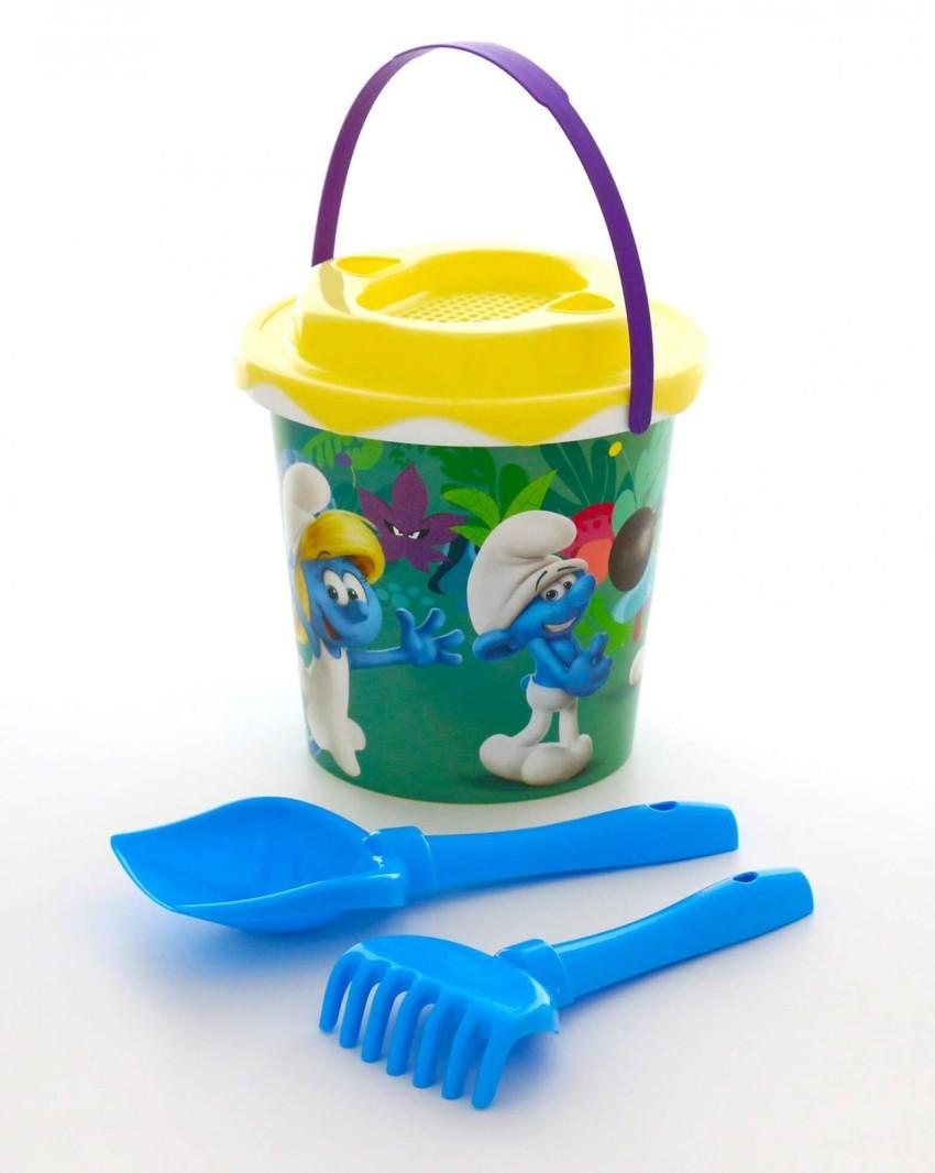Купить ПОЛЕСЬЕ Набор №1 Смурфики: Затерянная деревня-2 [64912P], пластик, Детские наборы в песочницу