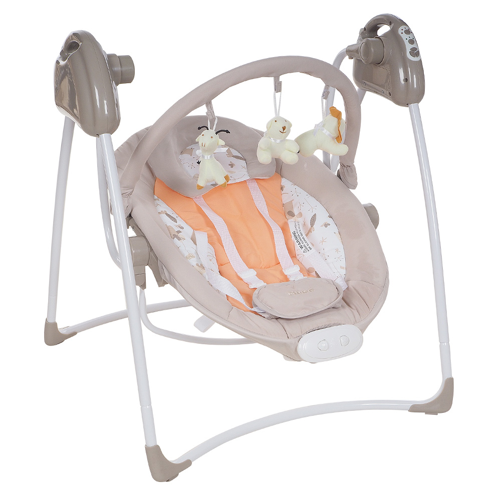 Купить PITUSO Электрокачели 2 в 1 PEACH, разноцветный [SW108-050], Китай, Качели и шезлонги для малышей
