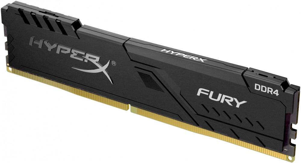 Оперативная память DIMM 8 Гб DDR4 3466 МГц Kingston HyperX Fury Black (HX434C16FB3/8) PC-27700 фото