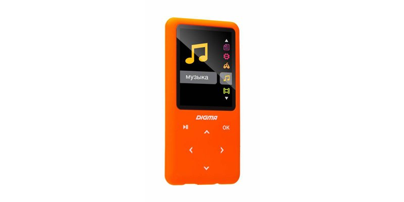 Flash плеер Digma S2 8Gb Orange