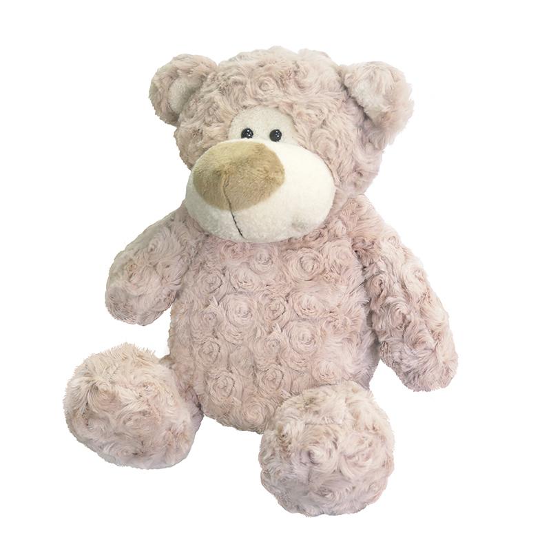 Купить Мягкая игрушка MAXITOYS MT-MRT031322-24 Медведь Барни 24 см, мех искусственный, полиэтиленовые гранулы, трикотажное волокно, полое полиэфирное волокно, фурнитура из пластмассы., Для мальчиков и девочек, Китай, Мягкие игрушки