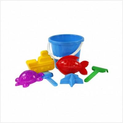 Купить АЛЬТЕРНАТИВА Набор детский для игры с песком Морской №2 [М2016], пластик, Россия, Детские наборы в песочницу