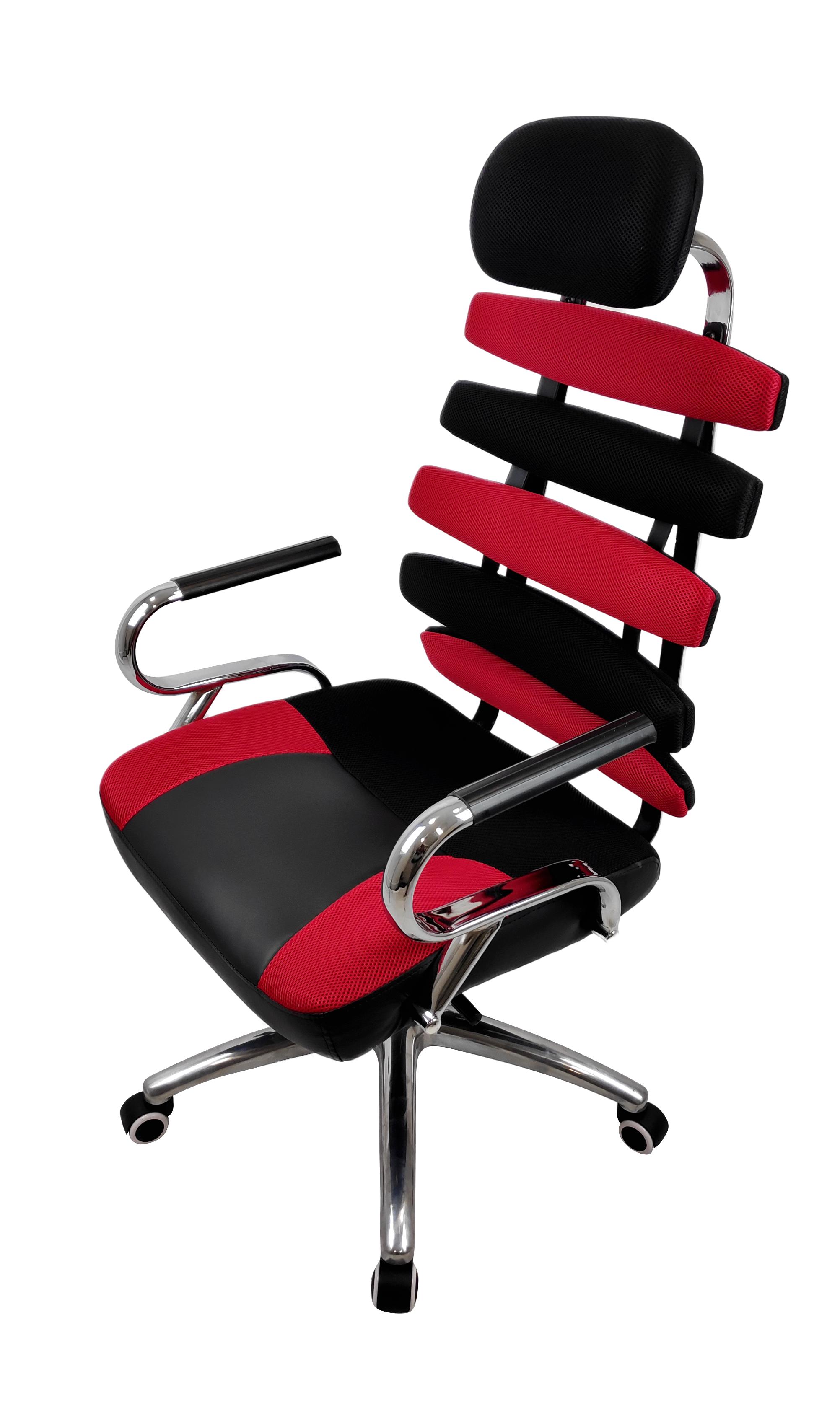 Офисное кресло эргономичное Raybe KB-415 красное фото