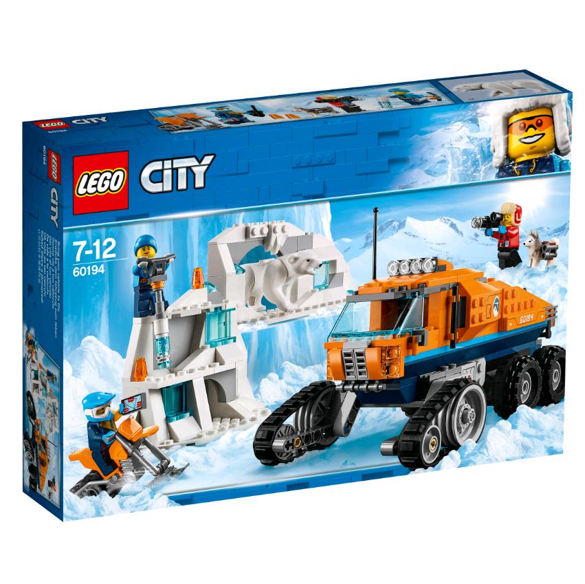 Купить Конструктор LEGO 60194 City Arctic Expedition Грузовик ледовой разведки, пластик, Для мальчиков и девочек, Китай, Конструкторы