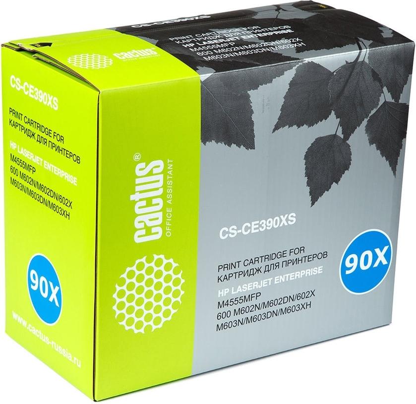 Купить Лазерный картридж Cactus CS-CE390XS Black, Black (Черный), Китай