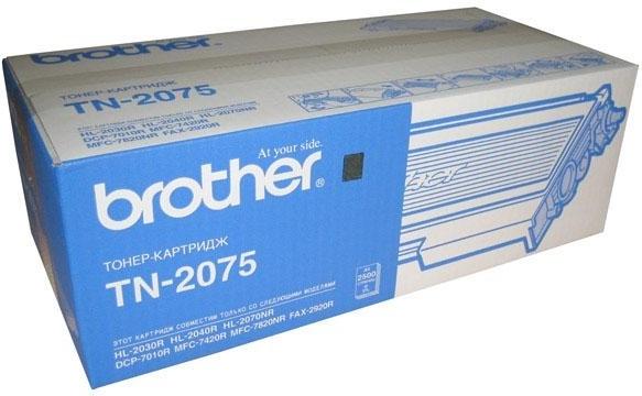 Купить Тонер-картридж Brother TN-2075 Black, Black (Черный), Китай