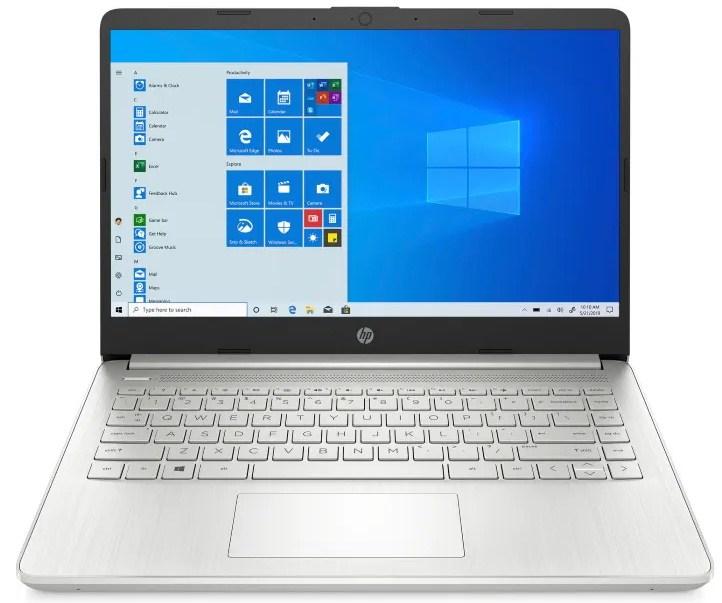 Ноутбук HP 14s-fq1016ur (3B3N2EA) серебристый