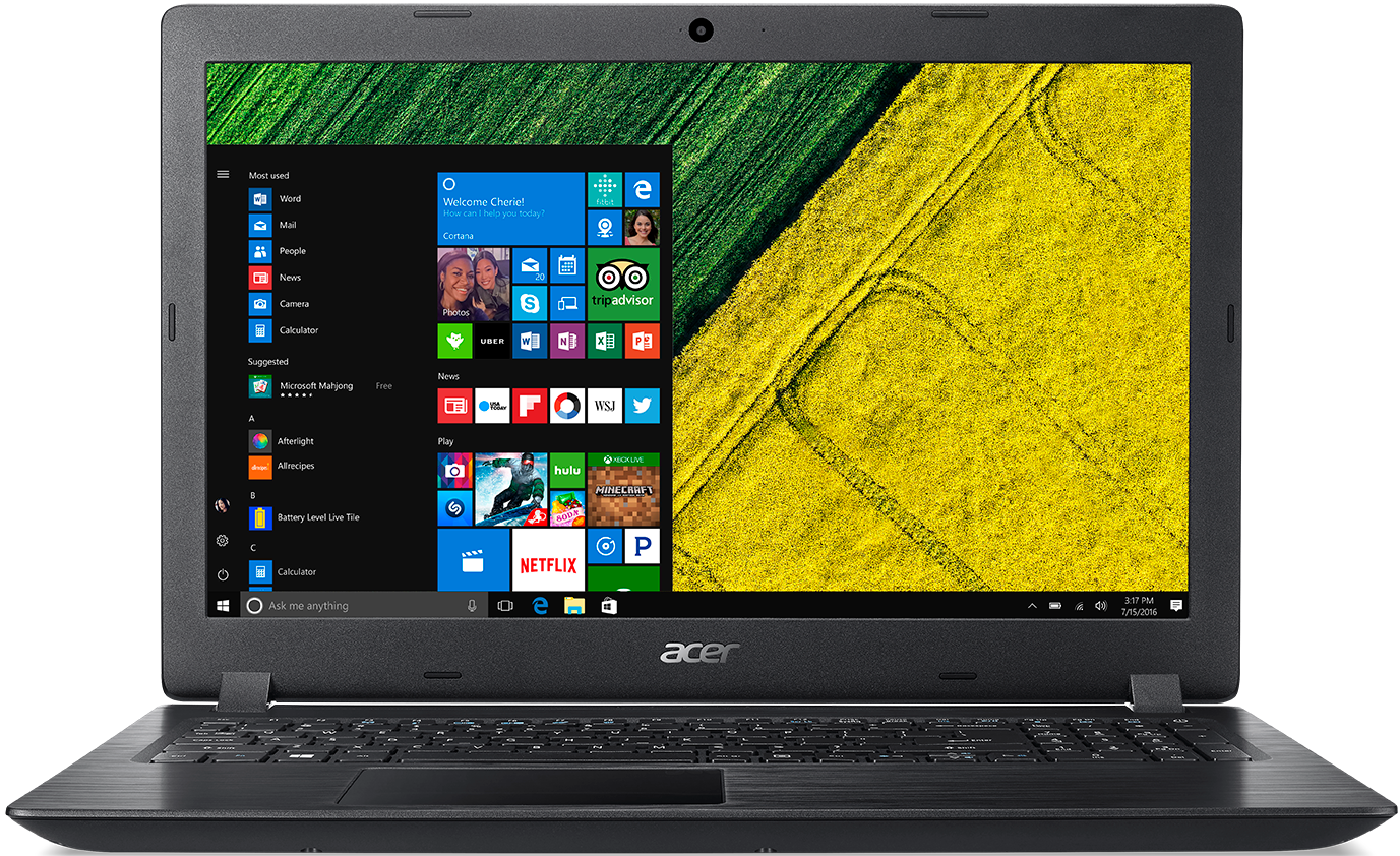 Ноутбук Acer Aspire 3 A315-41G-R0C7 (NX.GYBER.017) Черный Aspire A315-41G-R0C7 фото