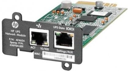 Адаптер HP UPS Network Module MINI-SLOT Kit AF465A