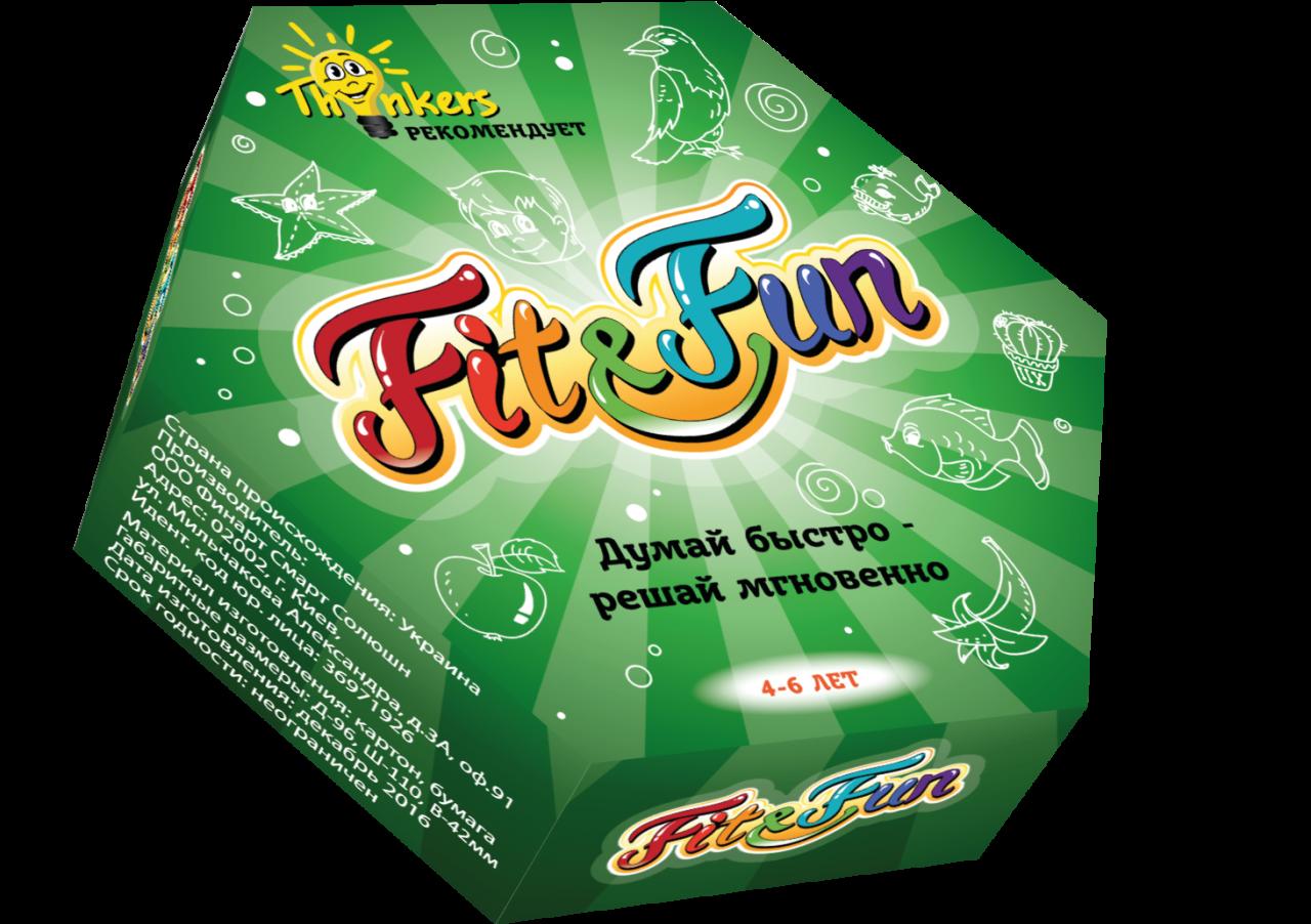 Купить Настольная игра THINKERS 20401 Fit and Fun 4-6 лет, Для мальчиков и девочек, Украина, Настольные игры